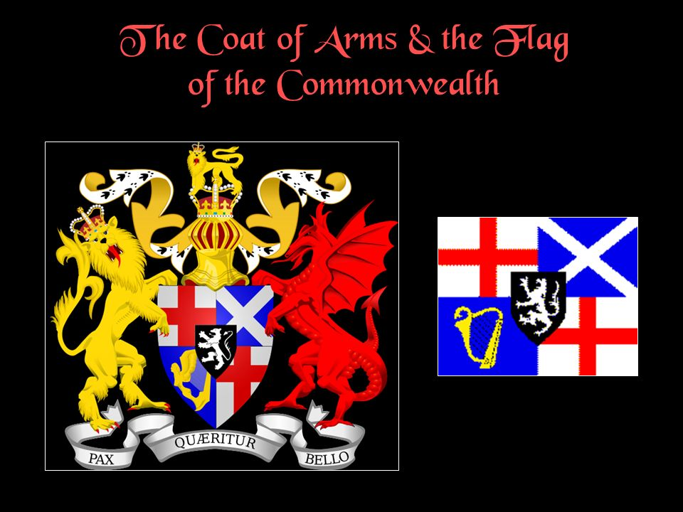 The Coat of Arms & the Flag of the Commonwealth