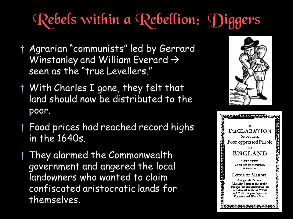 Rebels within a Rebellion: Diggers