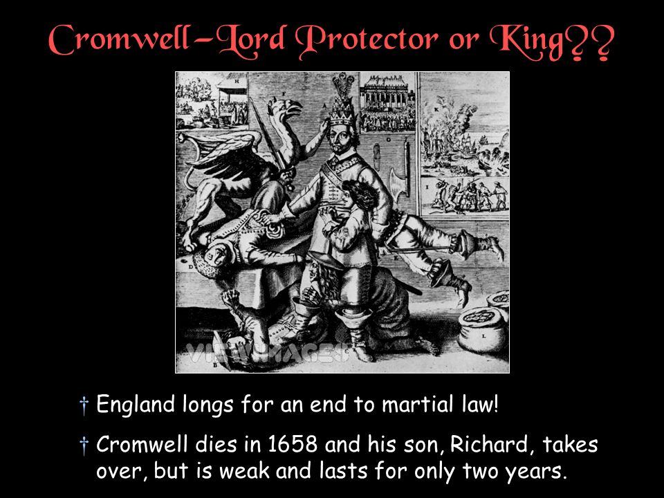 Cromwell—Lord Protector or King