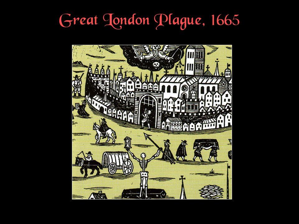 Great London Plague, 1665