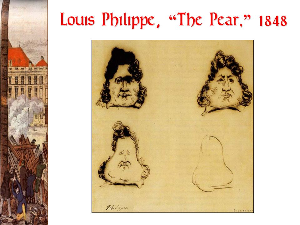 Louis Philippe, The Pear, 1848