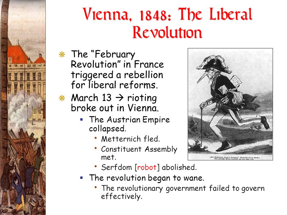 Vienna, 1848: The Liberal Revolution