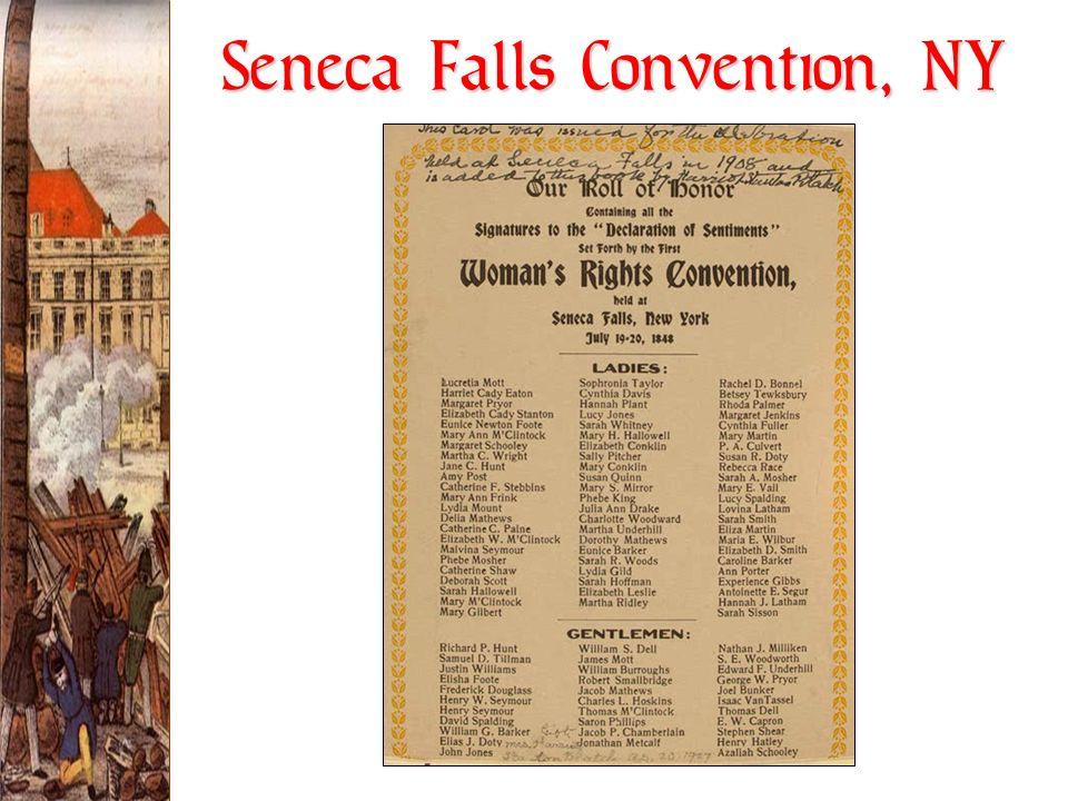 Seneca Falls Convention, NY