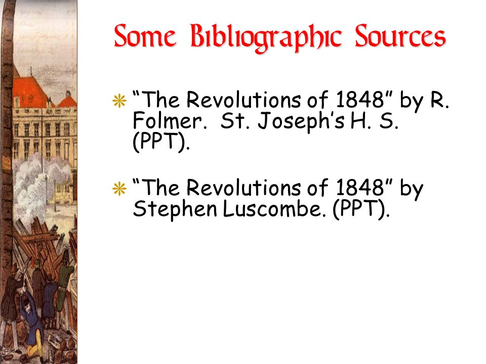 Some Bibliographic Sources