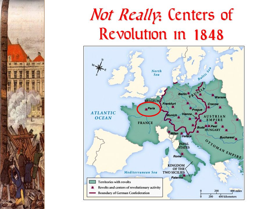 Not Really: Centers of Revolution in 1848