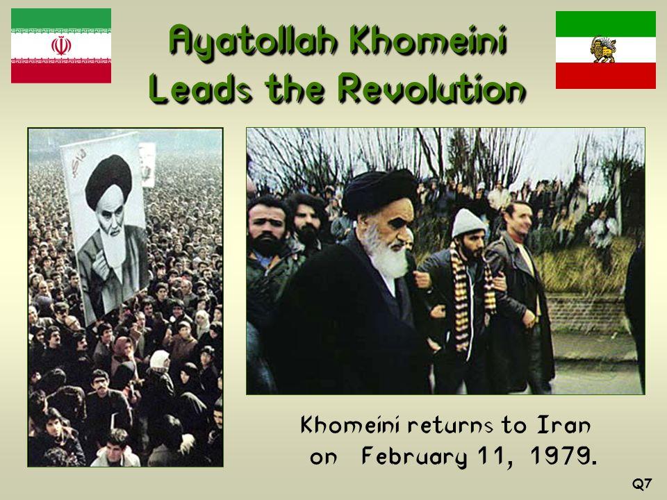 Ayatollah Khomeini Leads the Revolution