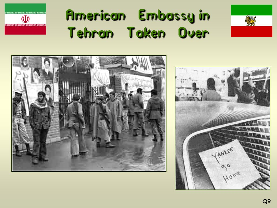 American Embassy in Tehran Taken Over