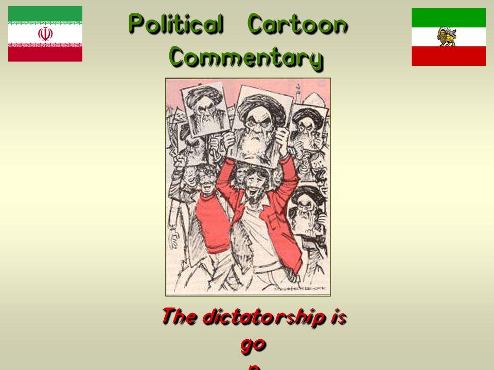 Political Cartoon Commentary