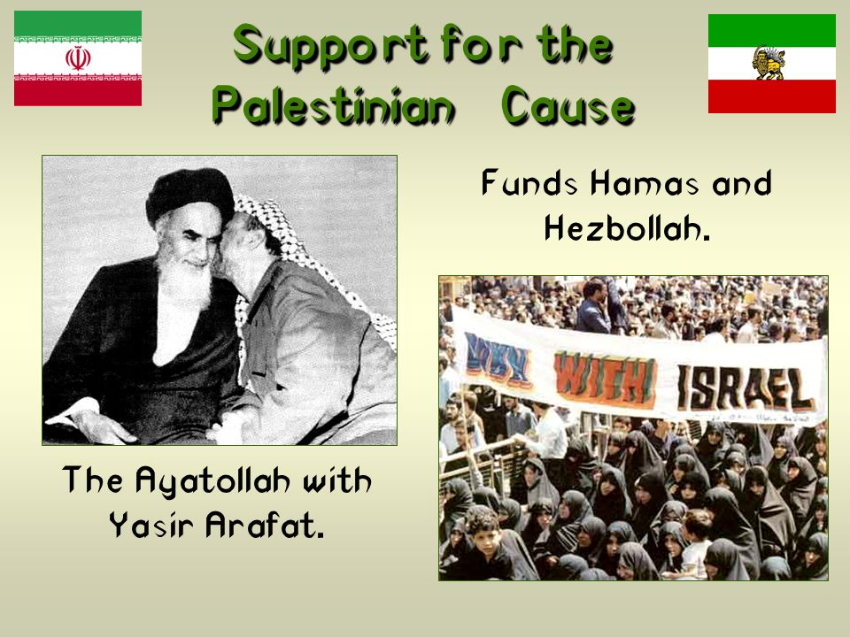 Support for the Palestinian Cause