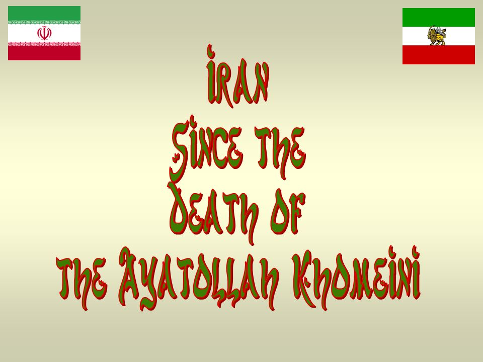 the Ayatollah Khomeini