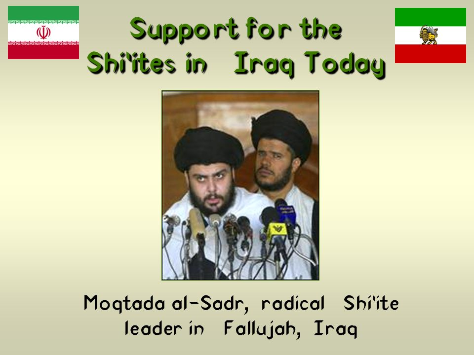 Support for the Shi'ites in Iraq Today