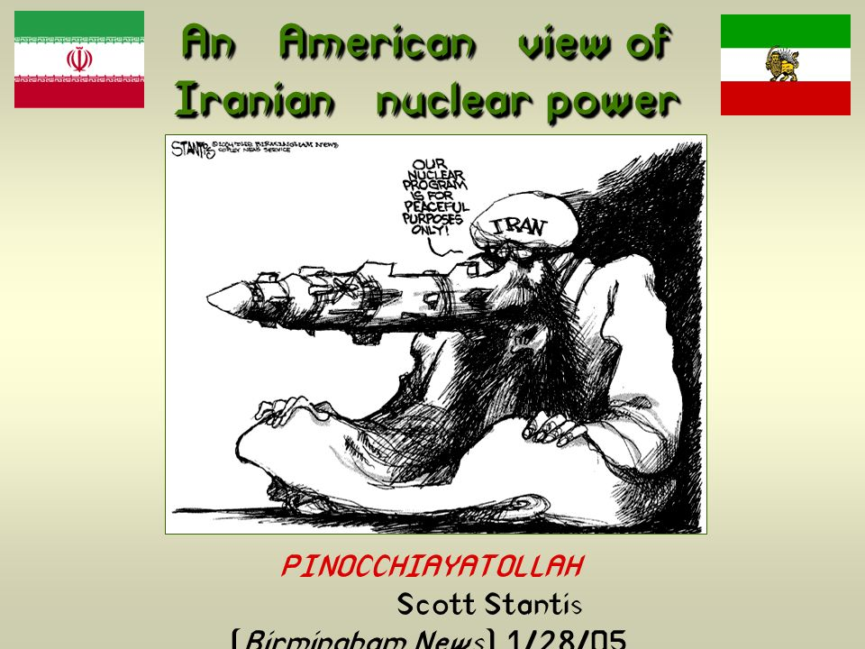 An American view of Iranian nuclear power