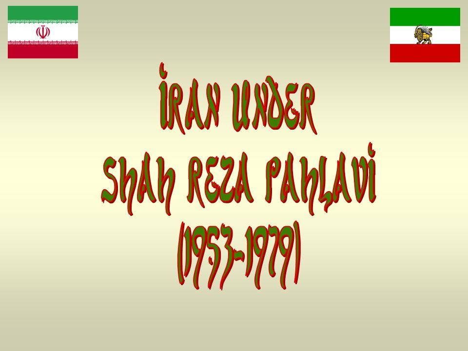 Iran under shah reza pahlavi (1953-1979)