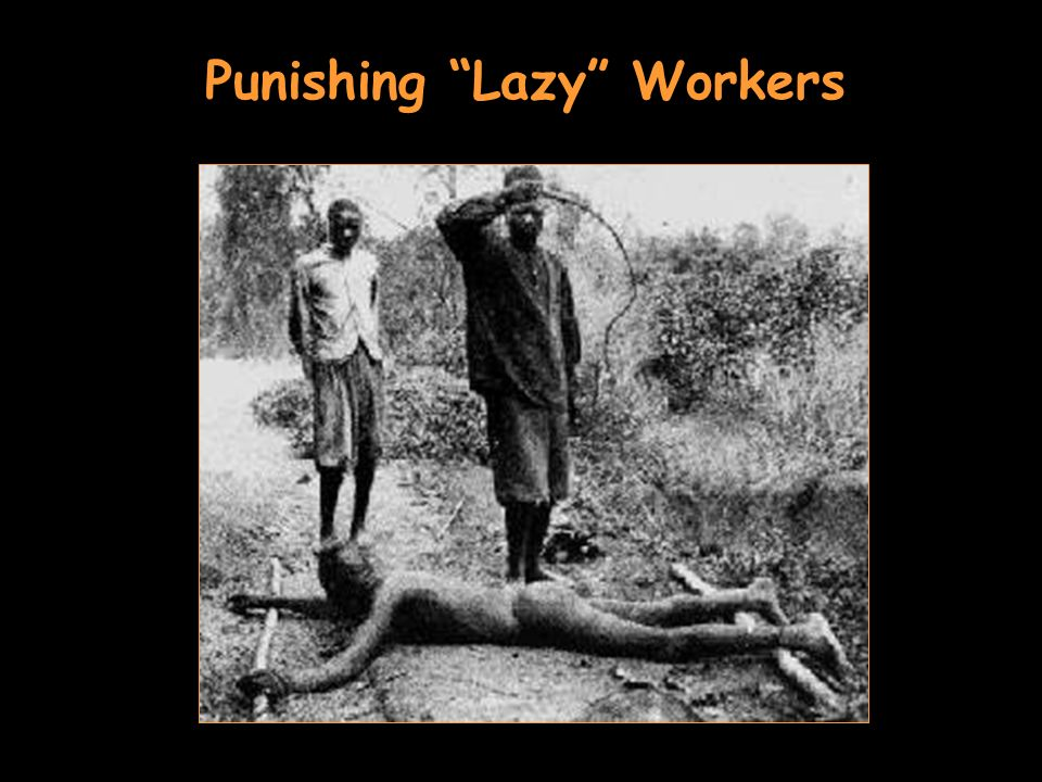 Punishing Lazy Workers