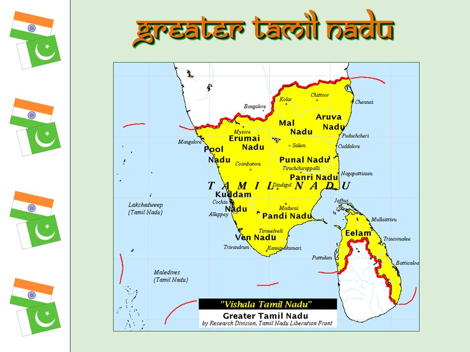 Greater tamil nadu