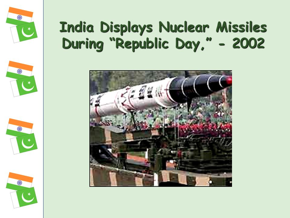 India Displays Nuclear Missiles During Republic Day, - 2002