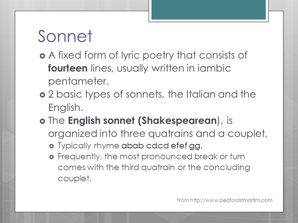 The only strict form poem we will try…………. - ppt download