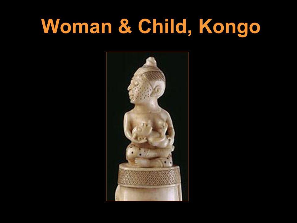 Woman & Child, Kongo