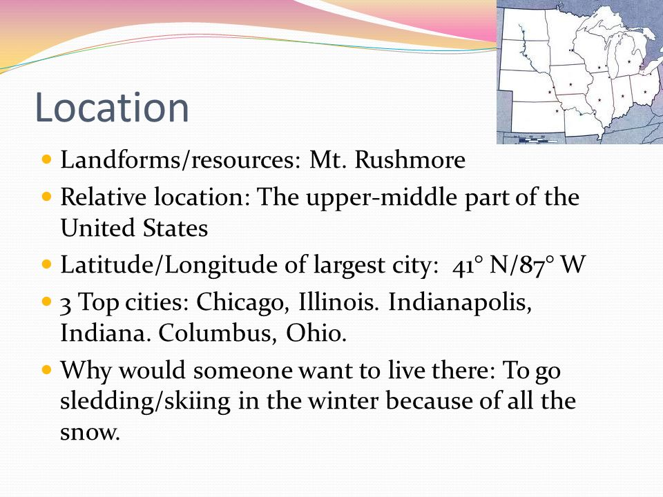 Midwest by lauren orheim ppt download 2 location sciox Choice Image