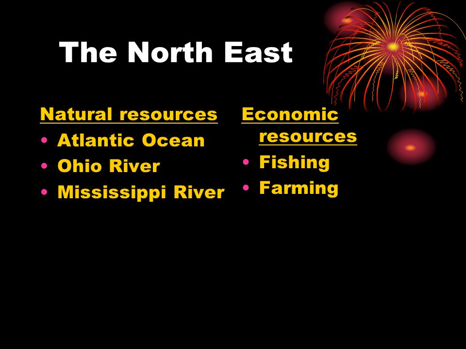 New Jersey Natural Resources Or Manufacturing