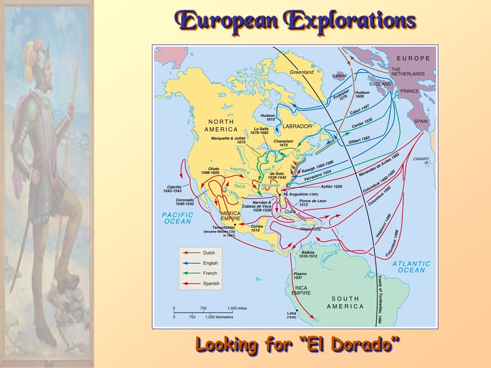 European Explorations Looking for El Dorado