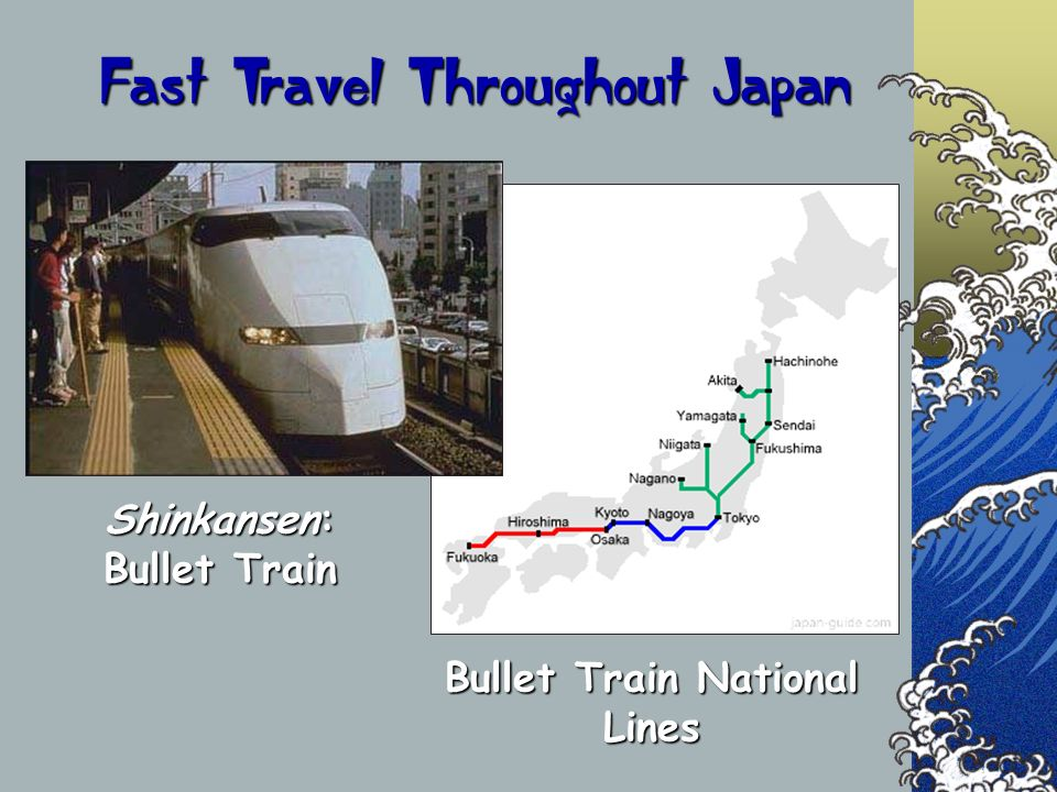 Fast Travel Throughout Japan