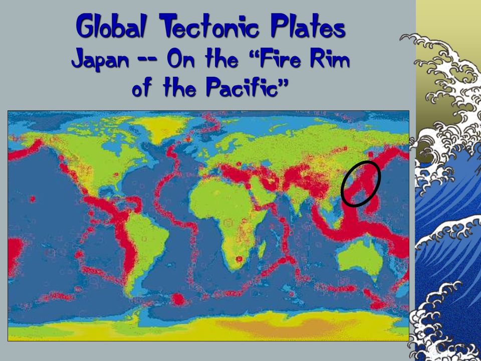 Global Tectonic Plates Japan -- On the Fire Rim of the Pacific