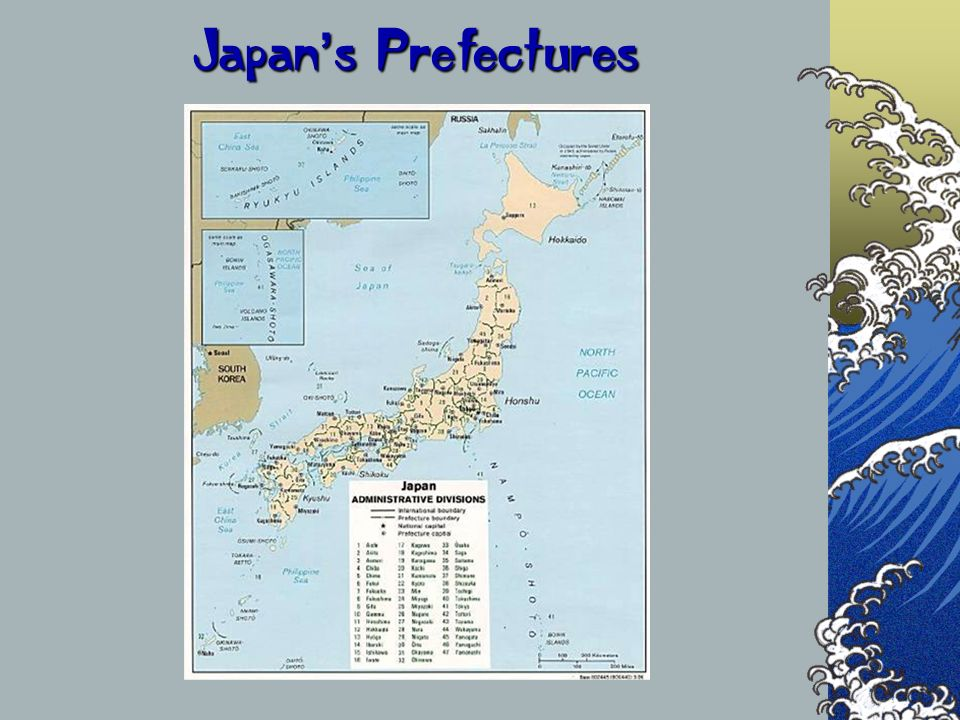 Japan's Prefectures