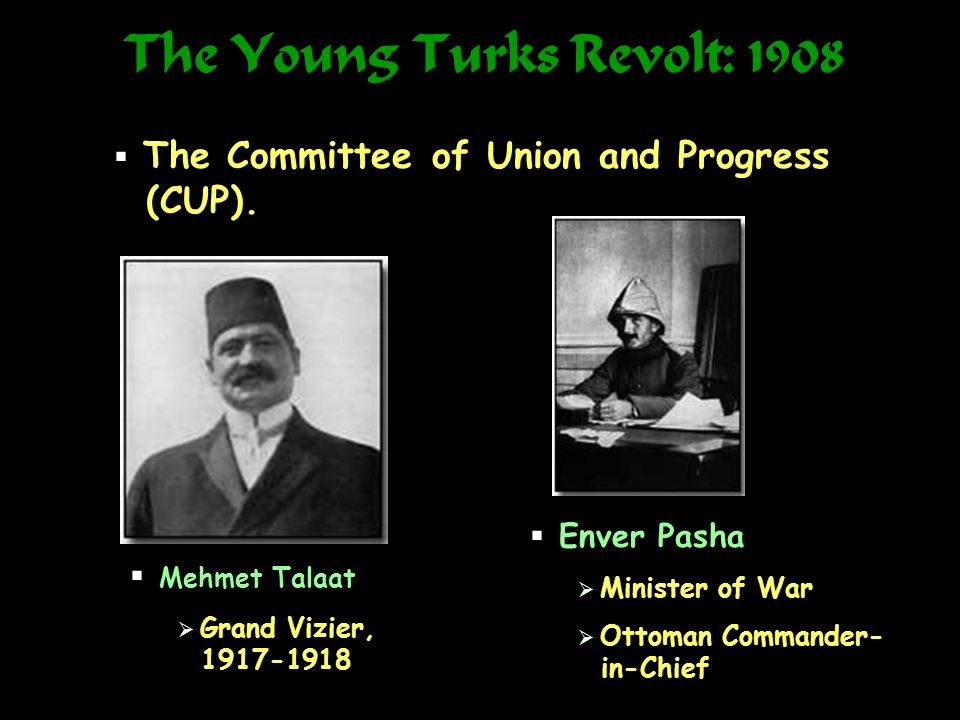 The Young Turks Revolt: 1908