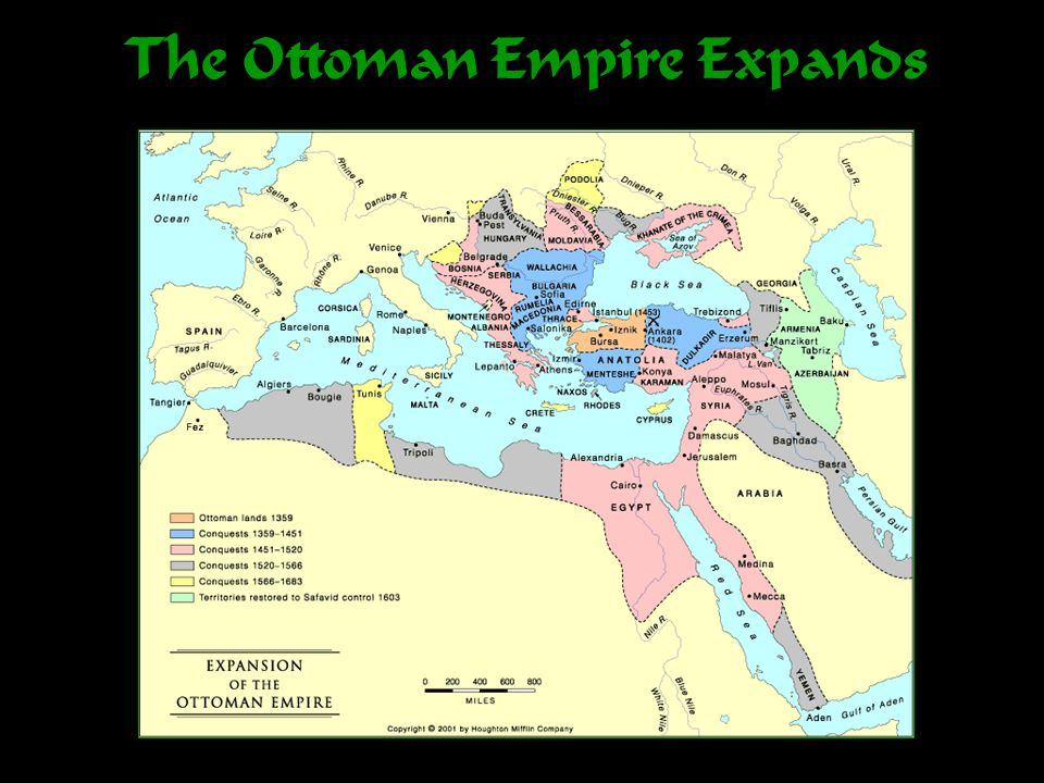 The Ottoman Empire Expands