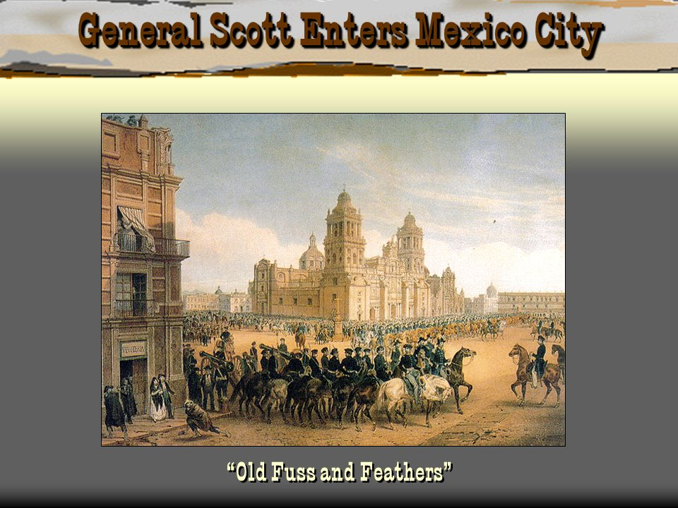 General Scott Enters Mexico City