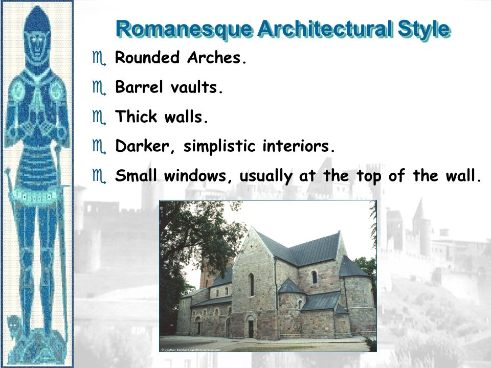 Romanesque Architectural Style
