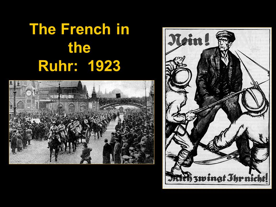 The French in the Ruhr: 1923