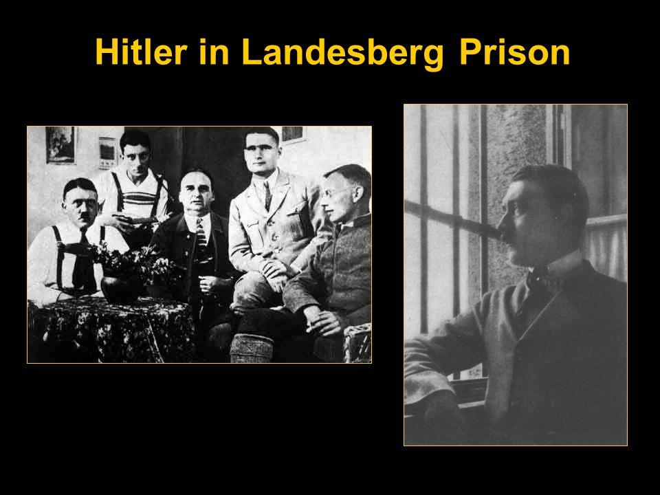 Hitler in Landesberg Prison