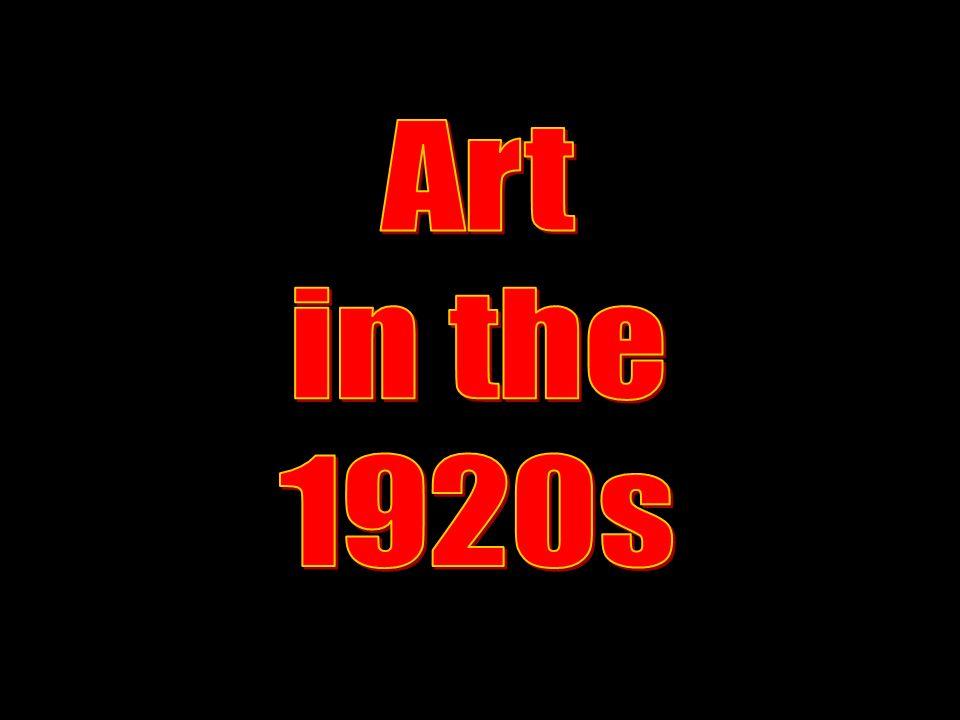 Art in the 1920s