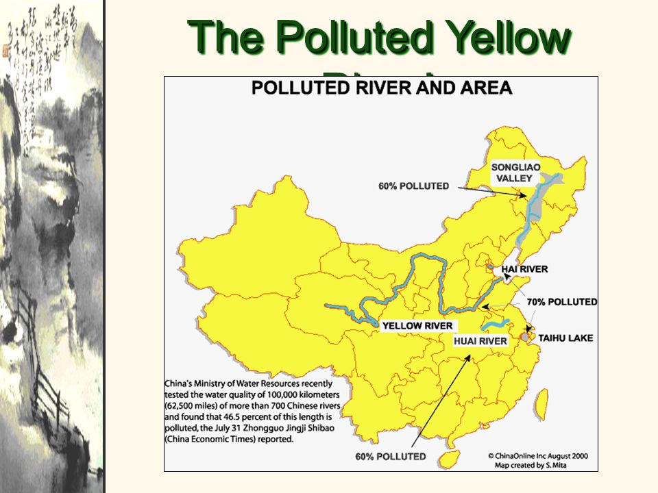 The Polluted Yellow River!