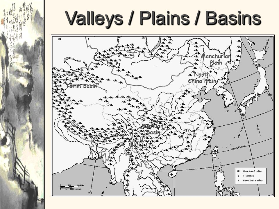 Valleys / Plains / Basins