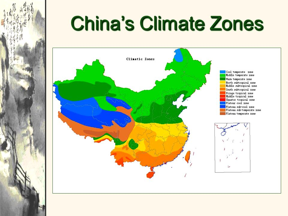 China's Climate Zones