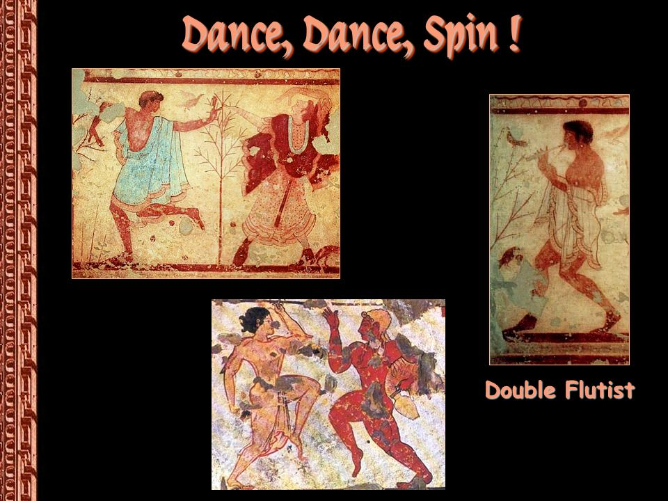 Dance, Dance, Spin ! Double Flutist