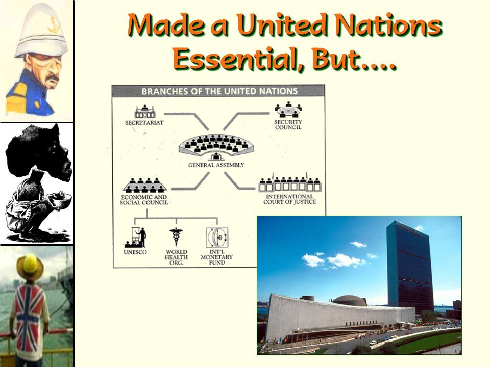 Made a United Nations Essential, But….