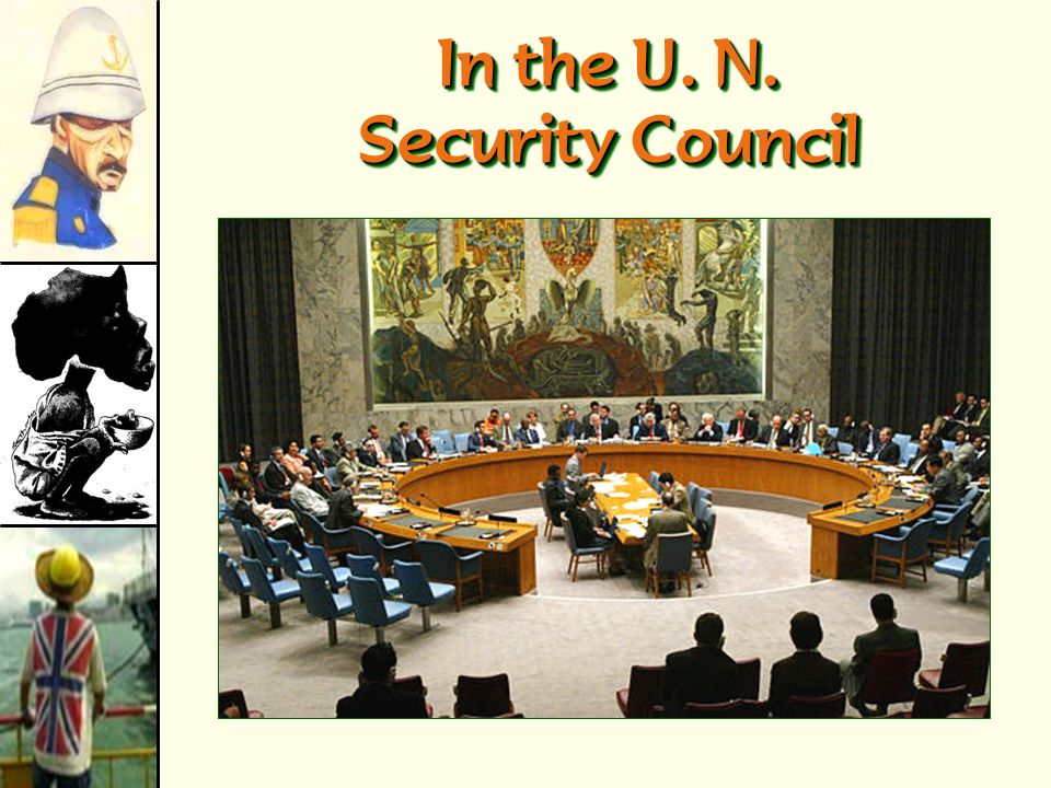 In the U. N. Security Council
