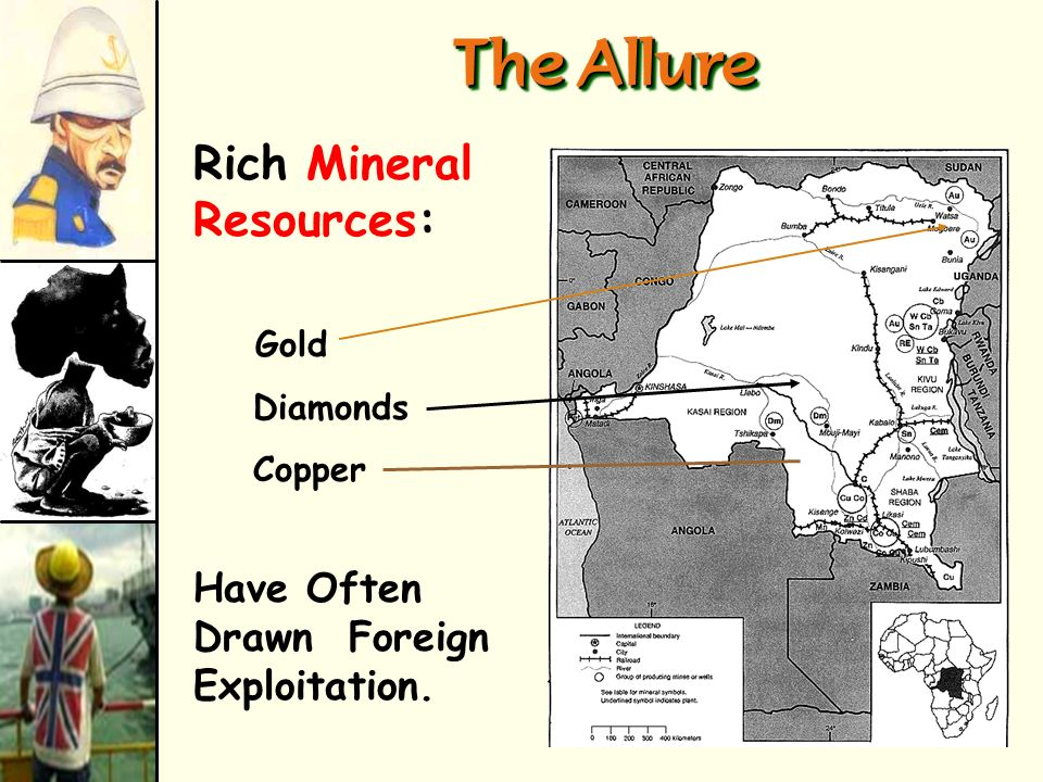 The Allure Rich Mineral Resources: