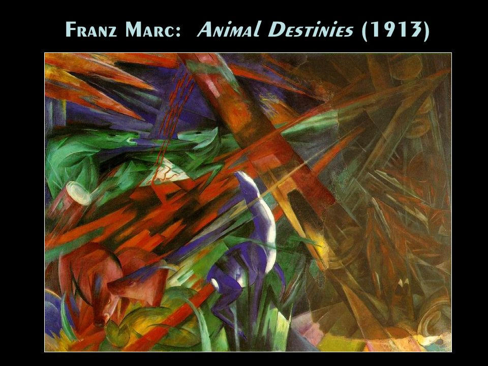 Franz Marc: Animal Destinies (1913)