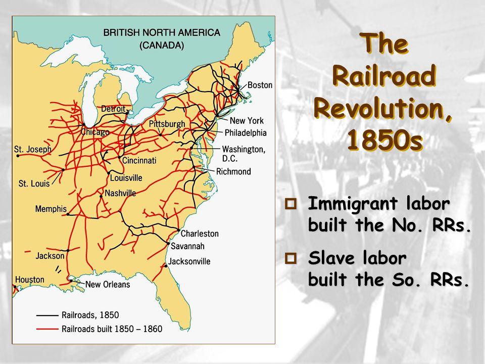 The Railroad Revolution, 1850s