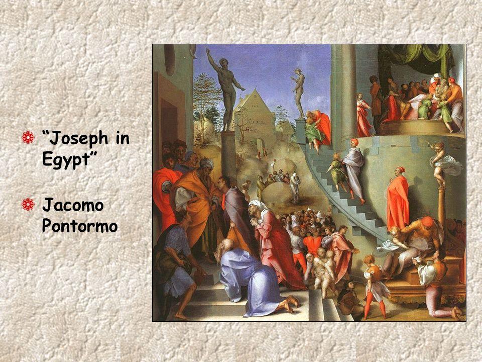 Joseph in Egypt Jacomo Pontormo