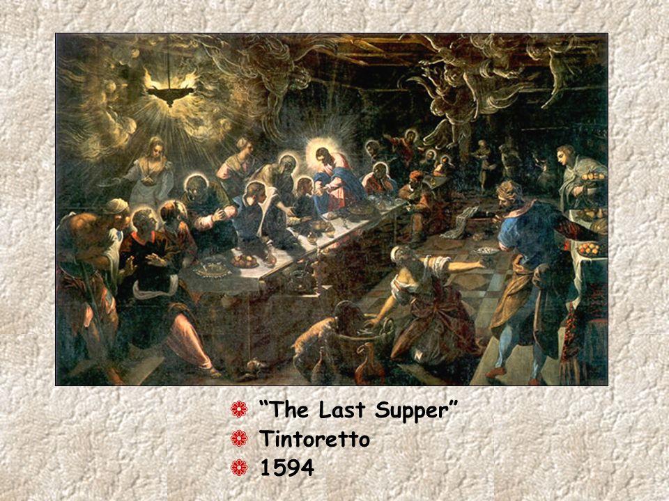 The Last Supper Tintoretto 1594