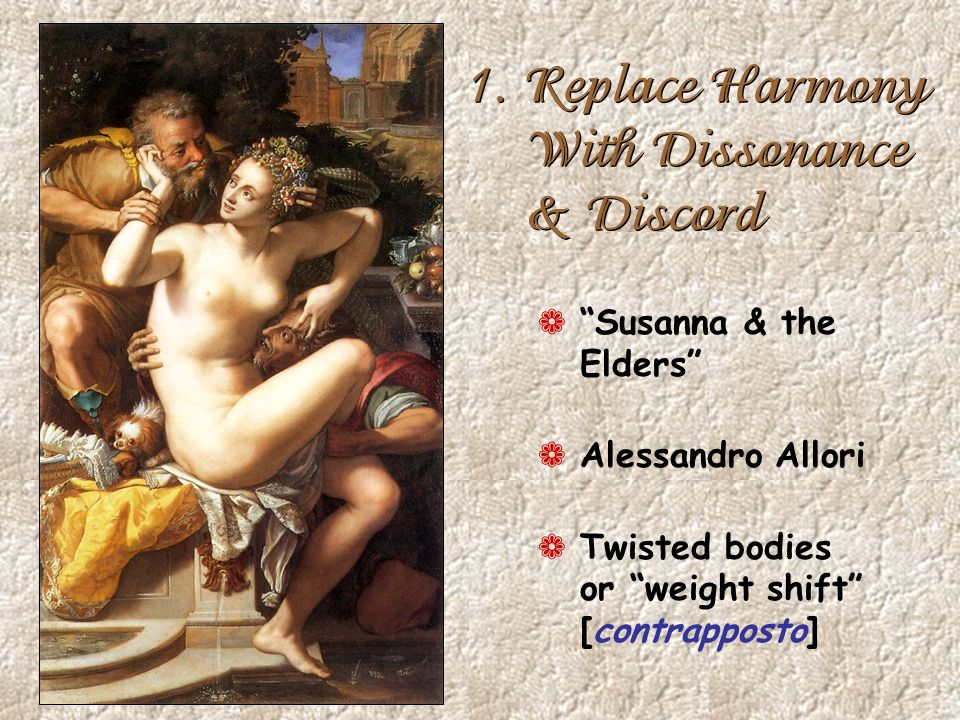 1. Replace Harmony With Dissonance & Discord