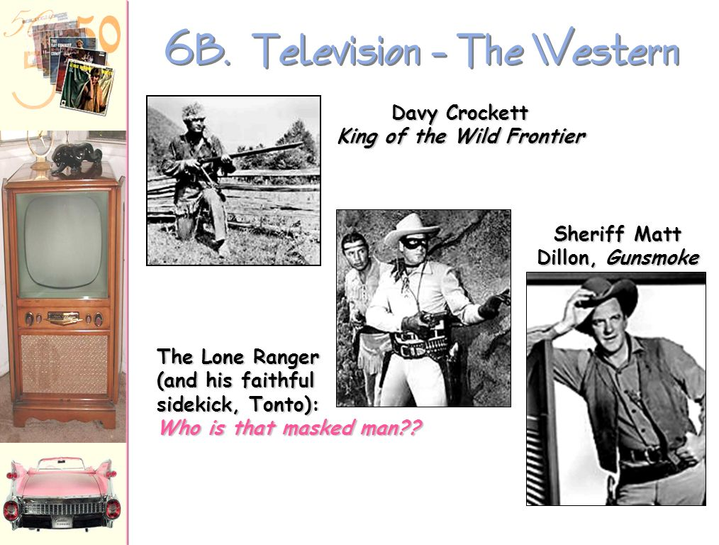 6B. Television – The Western