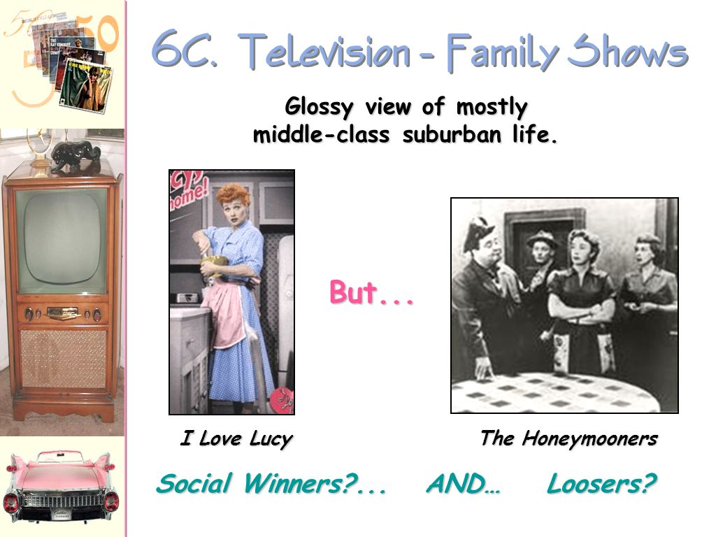 6C. Television - Family Shows