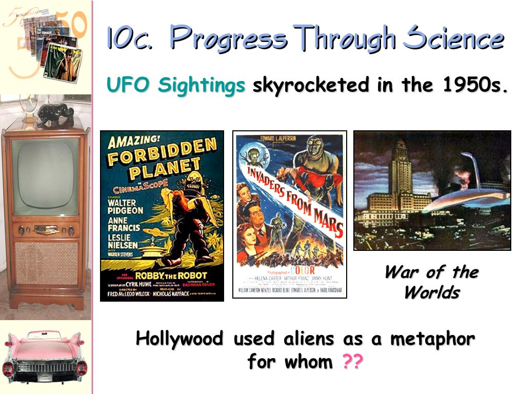 10C. Progress Through Science